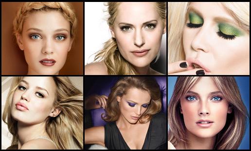 Maquillage blondes