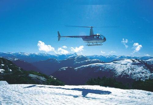 Heli-fishing : Pêche à l'hélicoptère