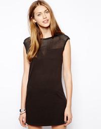 robe tulle noire