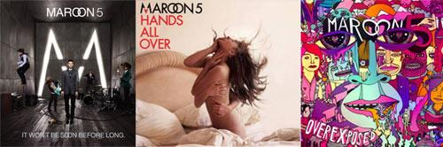 Jacquettes Albums Maroon 5