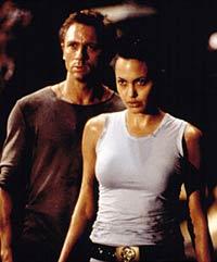 Daniel Craig avec Angelina Jolie : Tomb Raider